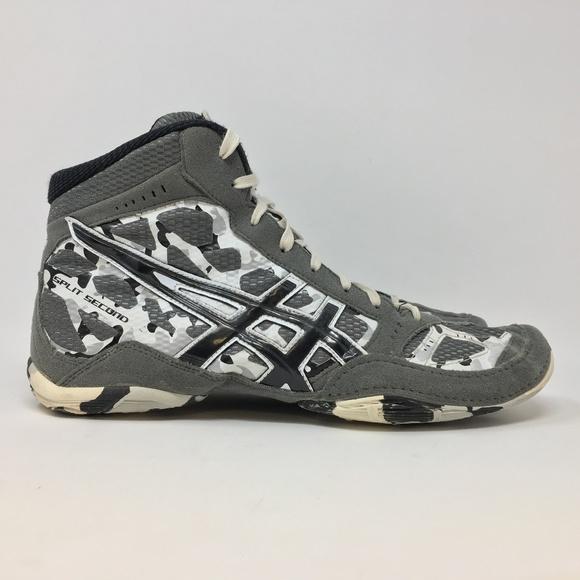 55bf001008f5 Asics Other - Asics Split Second Camo Mens 11 Wrestling Shoes H7
